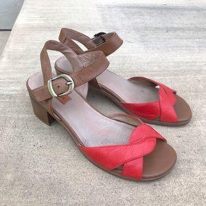 Miz Mooz Noreen ankle strap heeled sandals